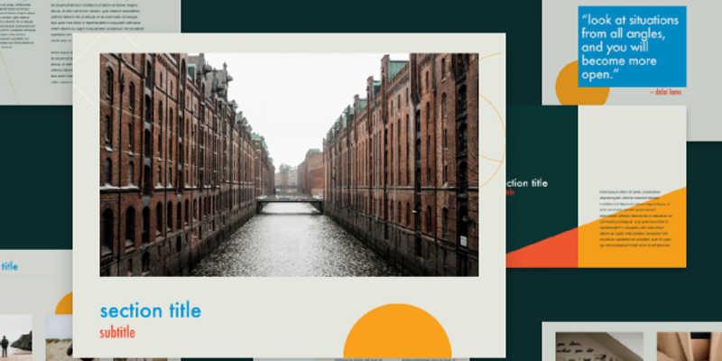 Presentation Template figma (slide template)
