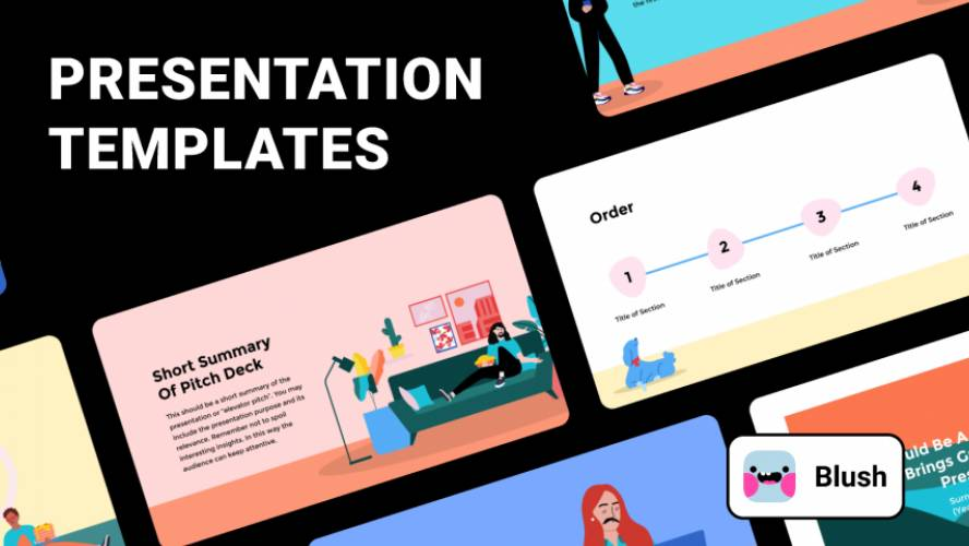 Presentation Template figma free