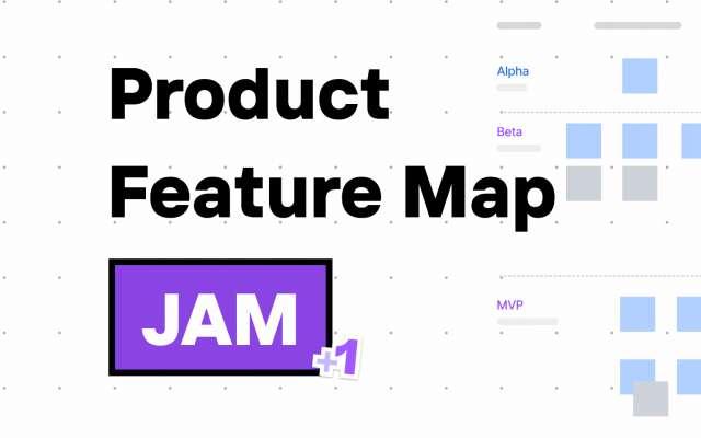 Product Feature Map FigJam Template