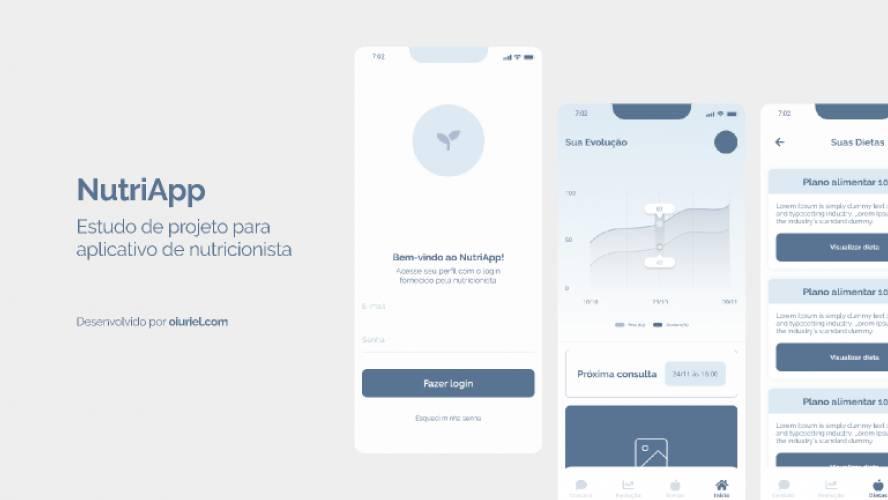 Projeto NutriApp Figma Free