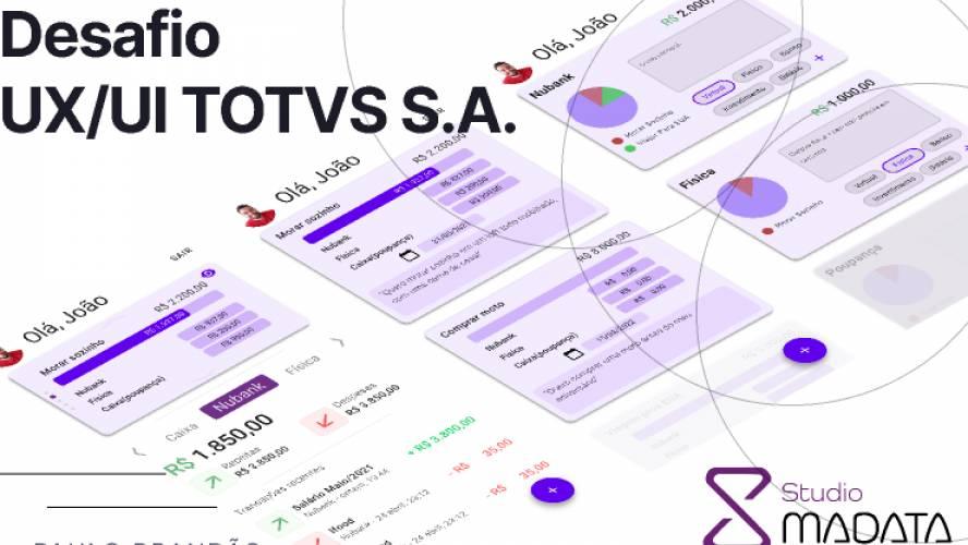 Proposta ao Desafio UX/UI da TOTVS S.A.