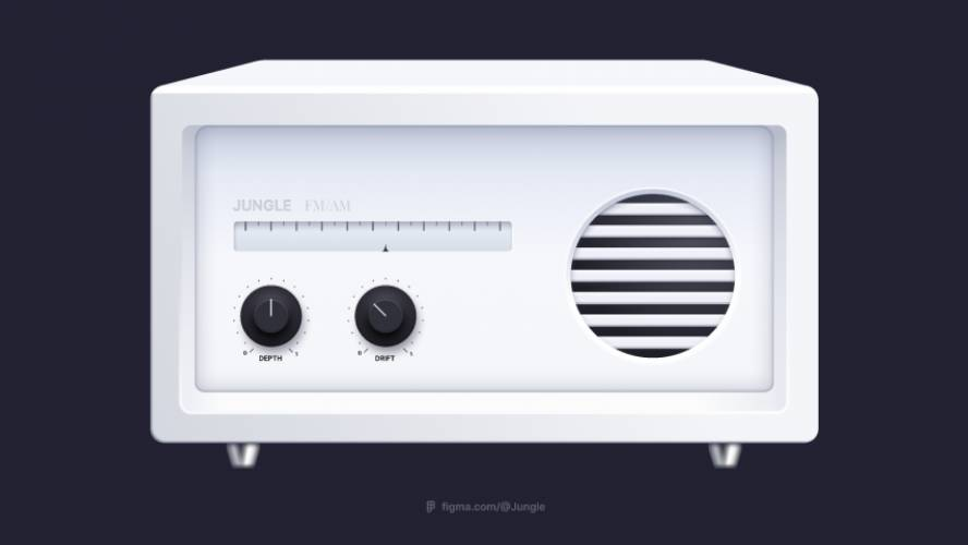 Radio Player figma
