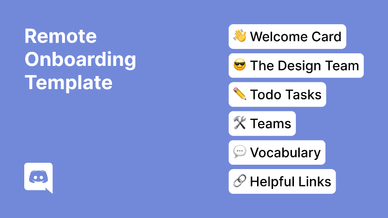 Remote Onboarding Template (Figma Template)