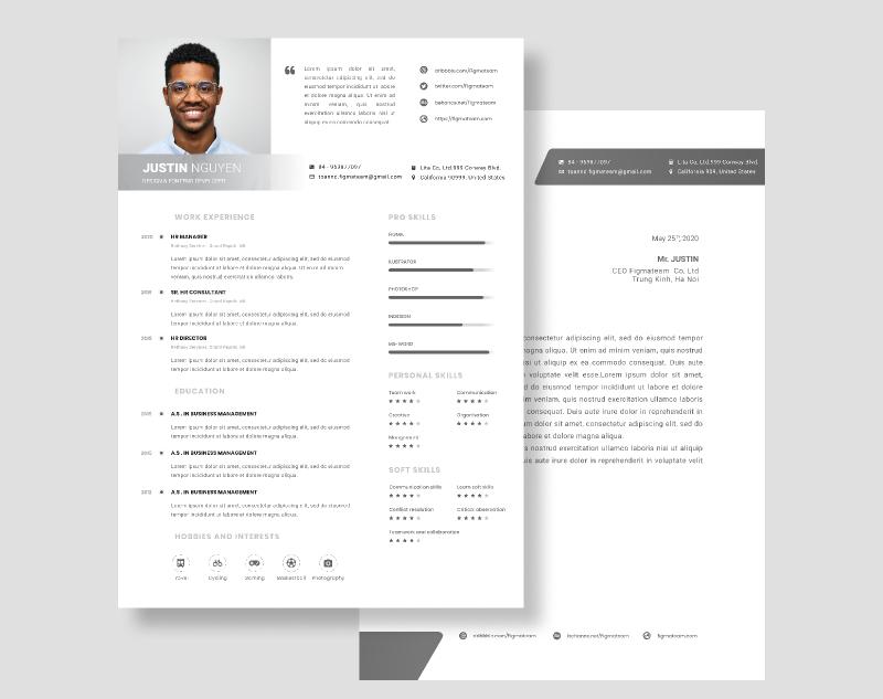 Free Resume templates 6