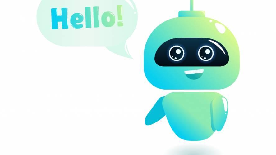 robot illustration   artificial intelligence  figma free