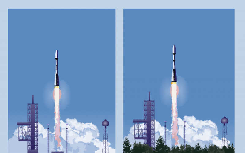 Rocket Launch Posters figma