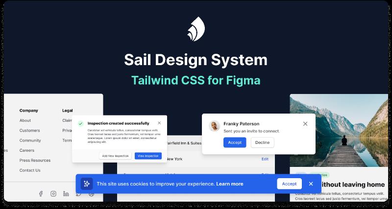 Sail Design System Figma