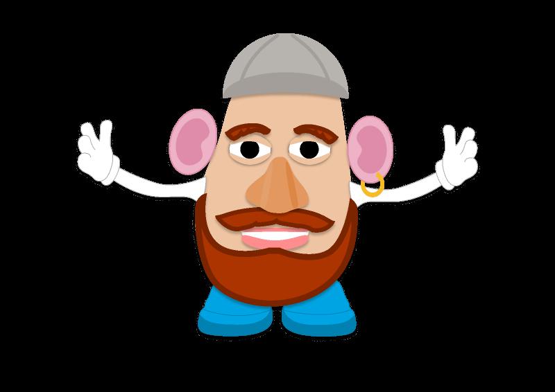 Sassano Potato Head figma