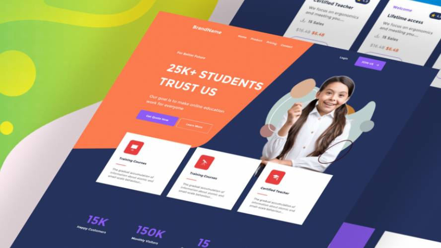School Better - top langding page free