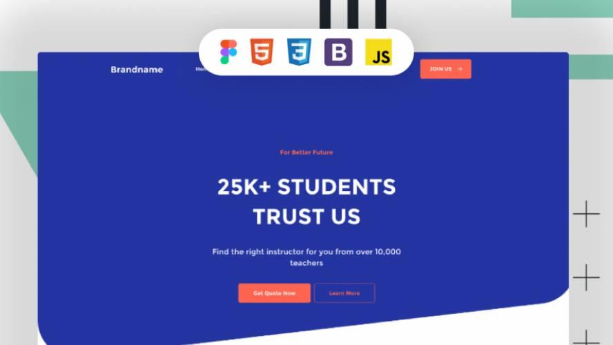 School Launch - professional design figma