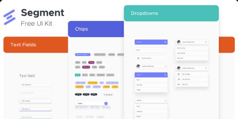 Segment - Free UI Kit