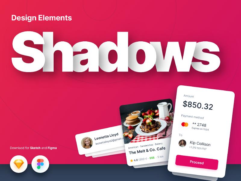 Shadows  Figma- Design Elements