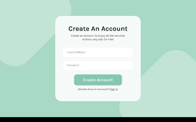 Sign Up Form figma