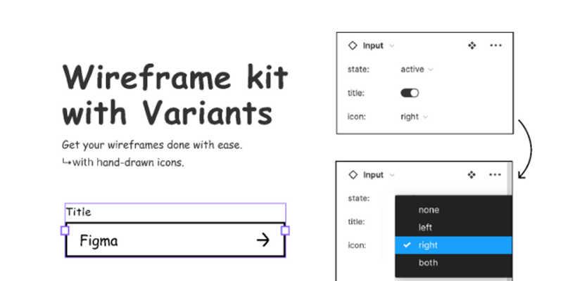 Simple Wireframe Kit (Freebie Figma Template)