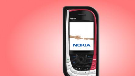 Skeuomorphic Nokia 7610 Figma