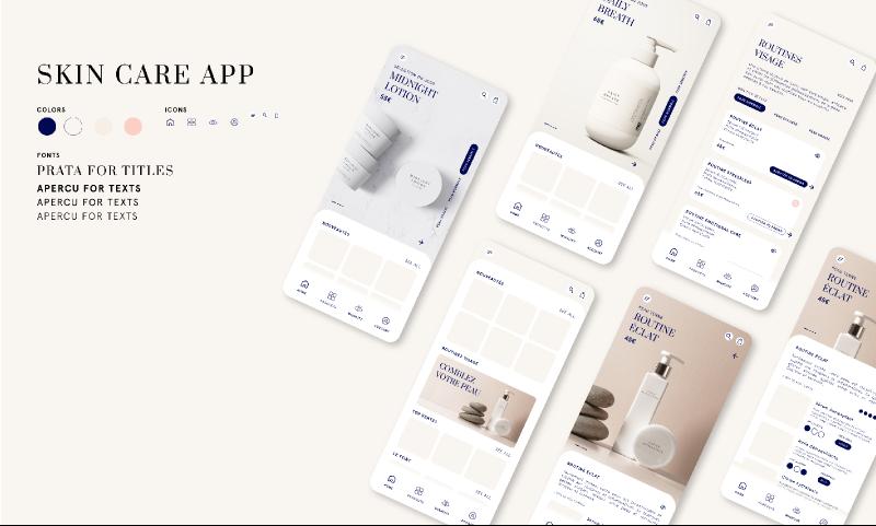 Skin care app