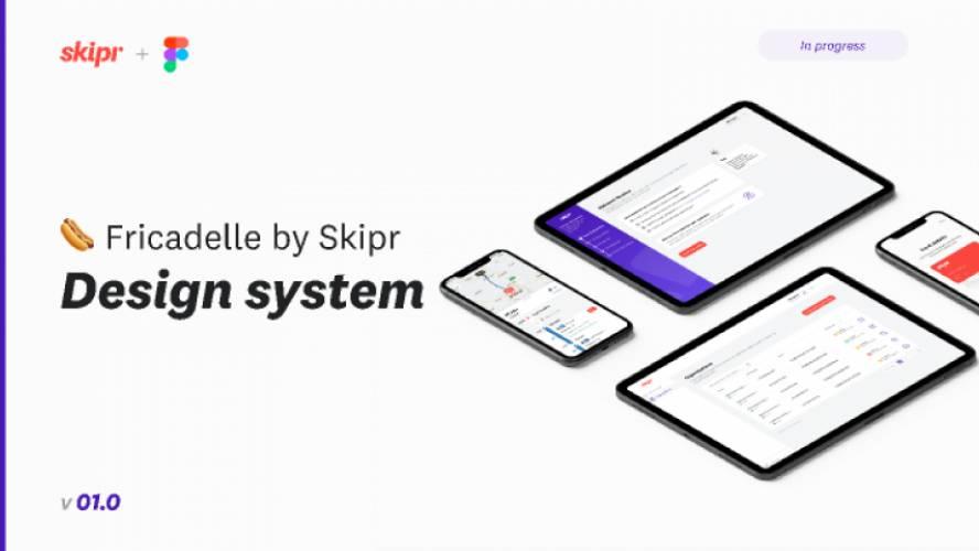 Skipr Design System Figma