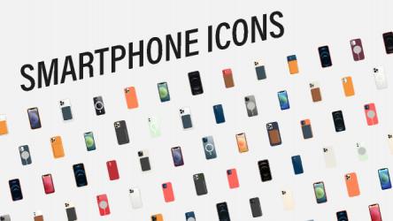 Smartphone icons figma