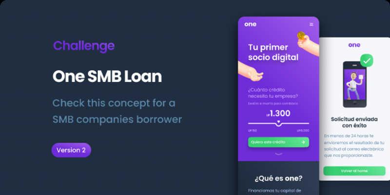 SMB Business Loan - One Figma Free