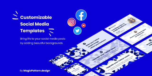 Social Media Templates figma