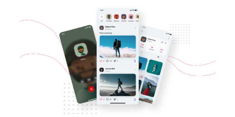 Social Media UI Kit Figma