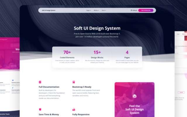 Soft UI Design System Figma