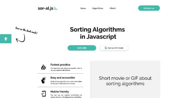 Sorting Algorithms in JS