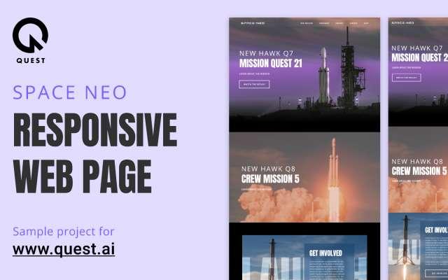 Space:Neo Figma Web Responcive