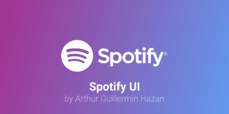 Spotify UI Figma Templates