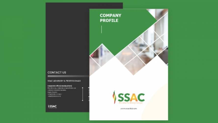 SSAC Brochure Figma Template Free Download
