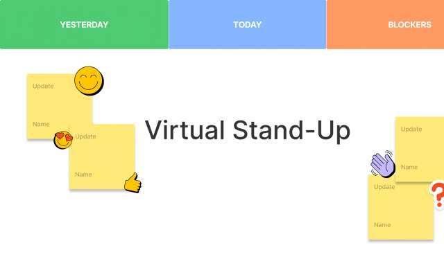Stand-up FigJam Template