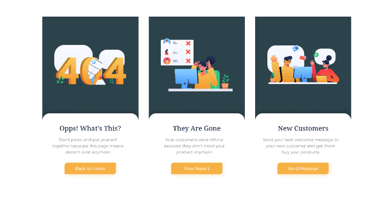 Startup Empty Pages UI Kit