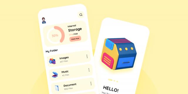 Storage Application Interface Figma