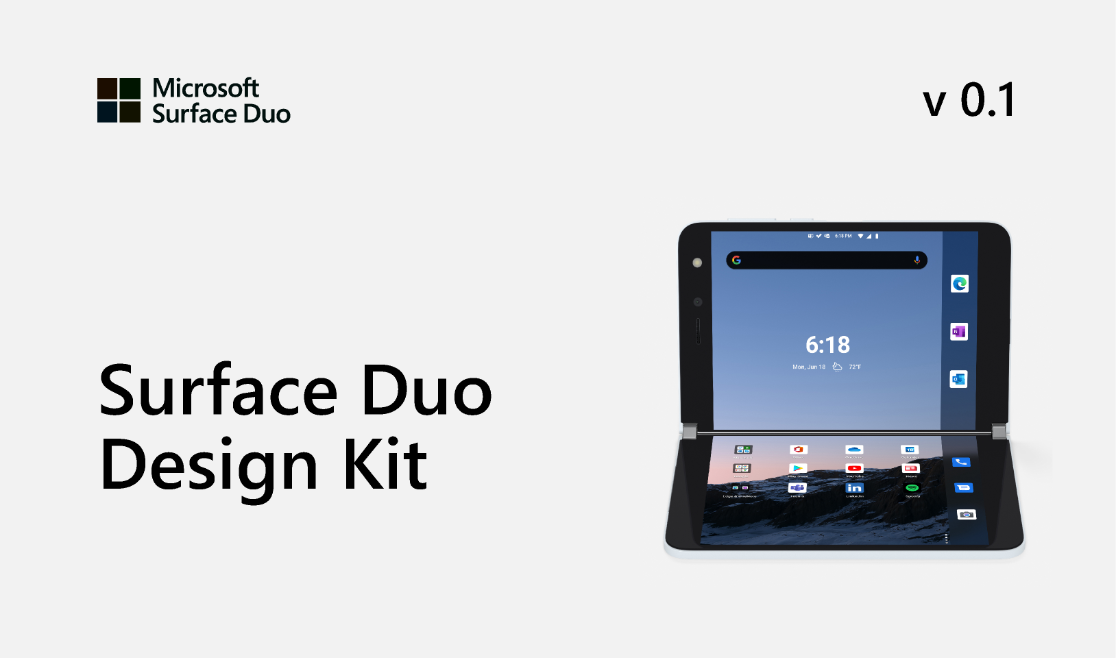 Surface Duo Design Kit Figma Templates