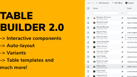 Table Builder 2.0