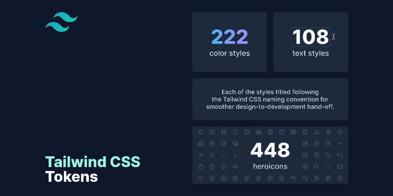 Tailwind CSS Tokens Figma