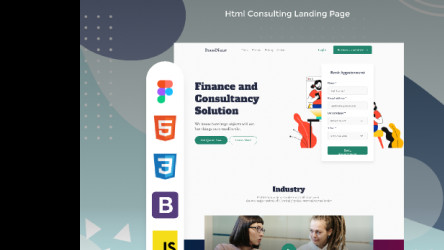Tech raven - figma consulting template