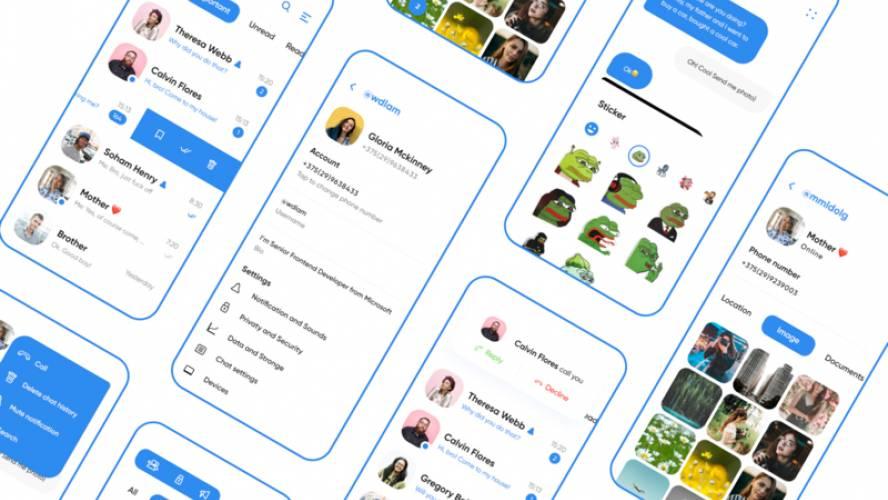 Telegram App UI Kit