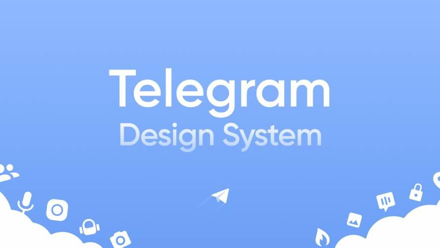 Telegram Design System Figma Template