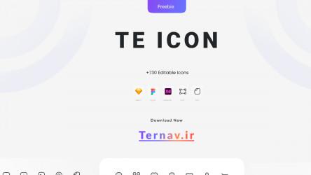 Ternav icon figma design free ui