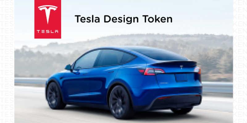 Tesla Design Token figma free