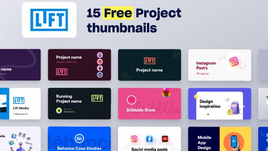 Thumbnails Freebie Figma Community