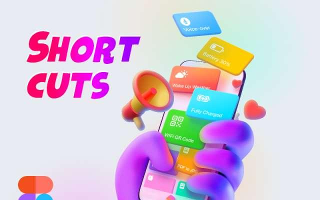 Toonmodernism® Shortcuts App Figma Art