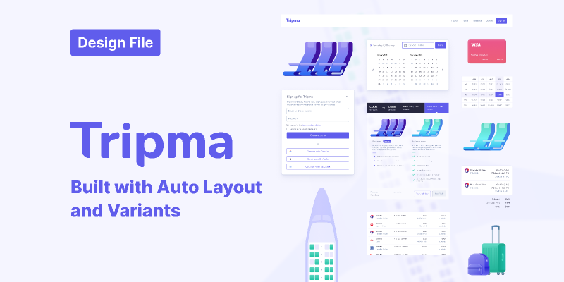 Tripma - Flight booking web app
