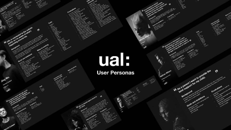 UAL User Personas Figma