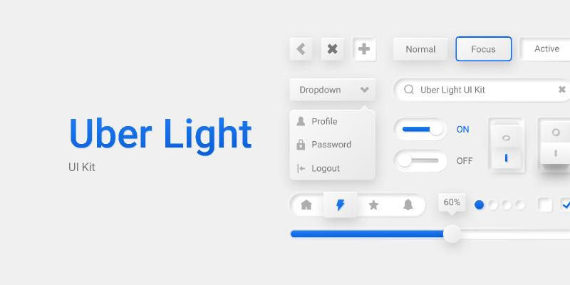Uber Light UI Kit Figma