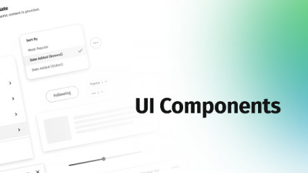 UI Components Library Figma