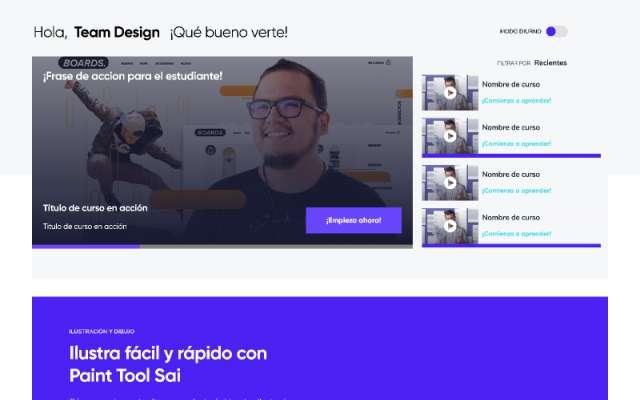 UI Design Desktop Fìgma