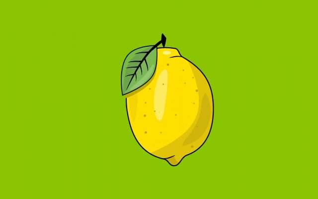 Vectorial Lemon Illustration figma