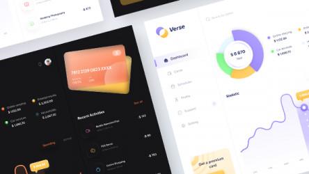 Verse - Payment Dashboard UI Kit Design